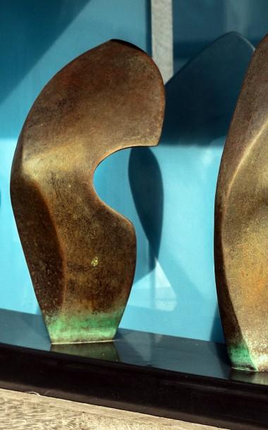 6 Forms Bronze Sculpture