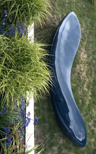 Big Blue Bench by Ben Barrell