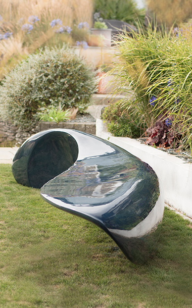Big Blue Sculptural Seat