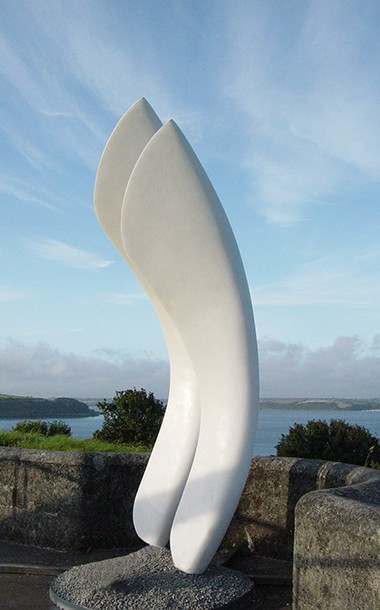 The White Wings Sculpture by Ben Barrell