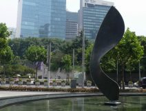 Large Bronze Sculpture Shanghai by Ben Barrell