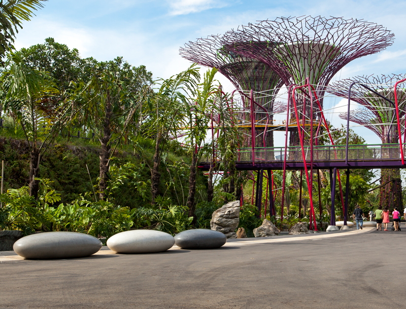 Pendeen Pebble Seats in Singapore's Gardens by the Bay