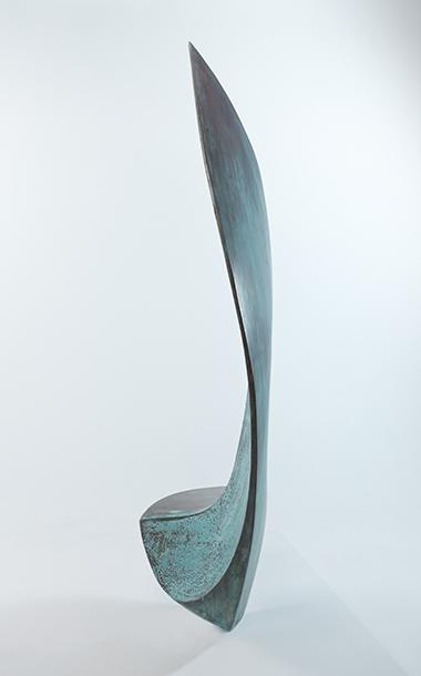 Exterior seating - bronze sculpture design by Ben Barrell
