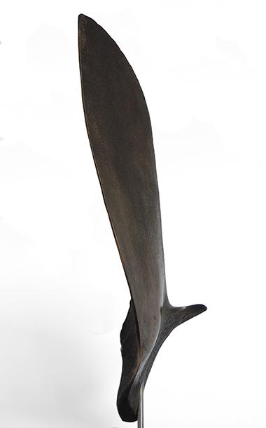 Interior wing bronze sculpture by Ben Barrell