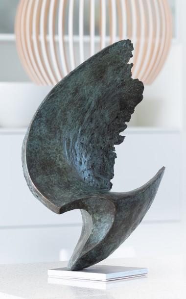 Wave sculpture by Ben Barrell