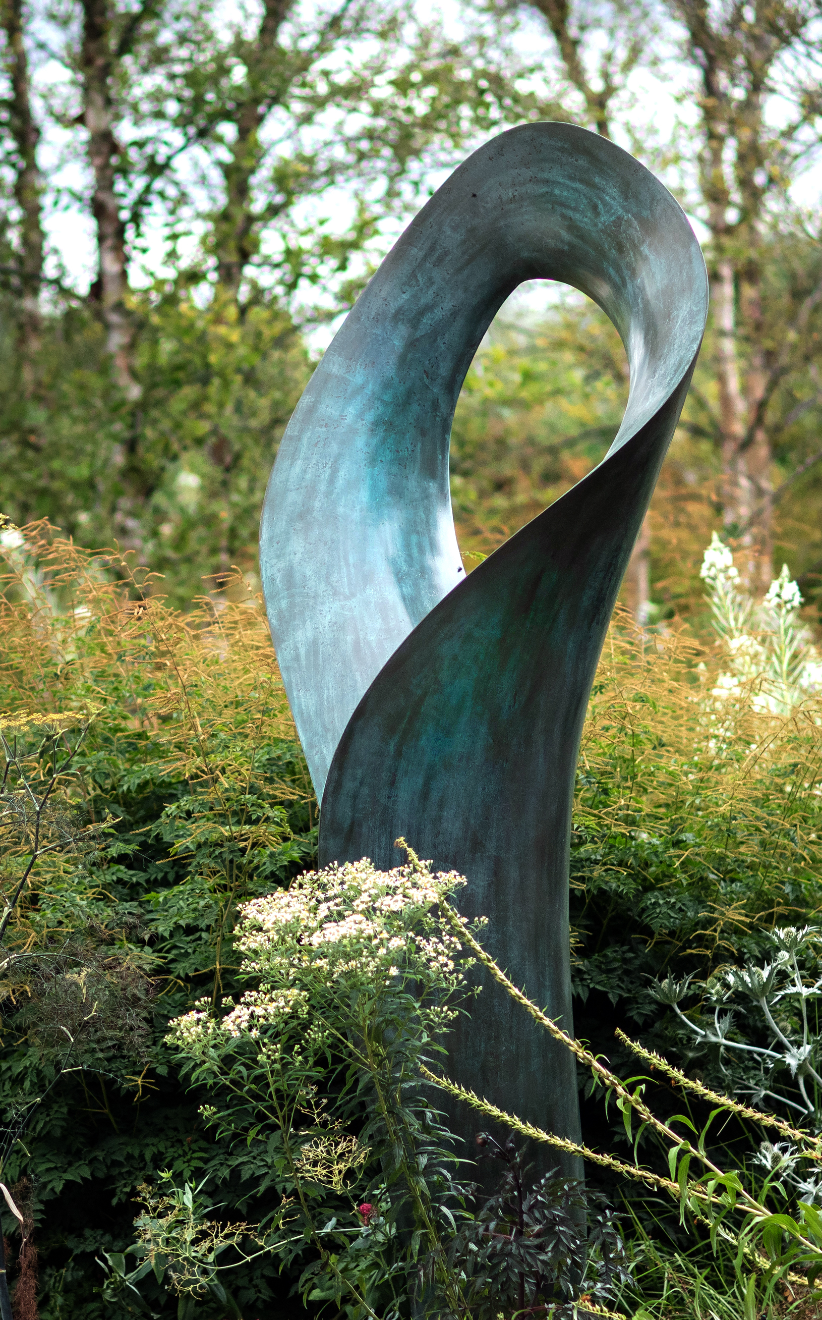 Swirl Sculpture by Ben Barrell