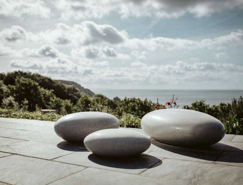 pebble Sats Pico barrell Sculpture