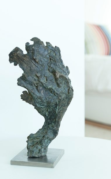 Bronze Green Man by Ben Barrell