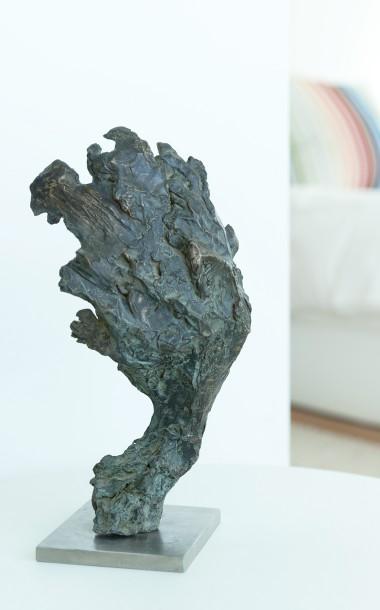 Bronze Green Man by Ben Barrell