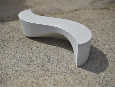 Wave bench by Ben Barrell