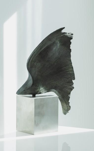 Wing 1 bronze sculpture by Barrell