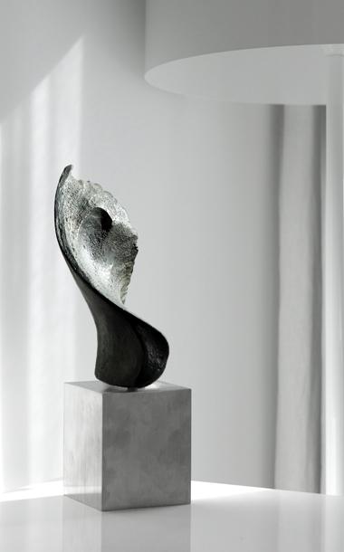 Bronze Wing sculpture by Ben Barrell