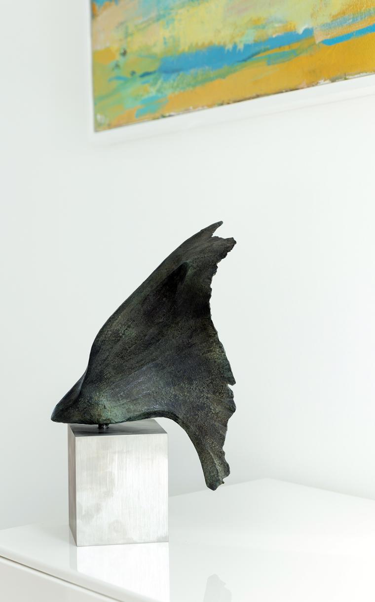 Wing sculpture by Ben Barrell