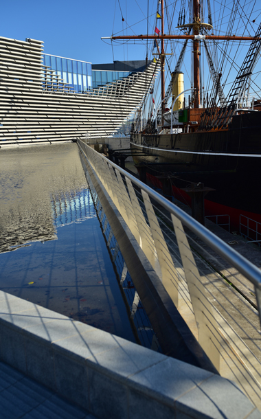 RSS Discovery and the V&A in Dundee